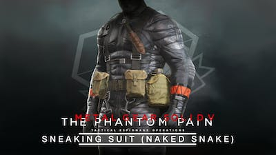 METAL GEAR SOLID V: THE PHANTOM PAIN - Sneaking Suit (Naked Snake) - DLC