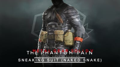 METAL GEAR SOLID V: THE PHANTOM PAIN - Sneaking Suit (Naked Snake)