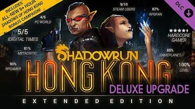 Shadowrun: Hong Kong - Extended Edition Deluxe Upgrade DLC
