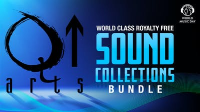 Q Up Arts World Class Royalty Free Sound Collections Bundle