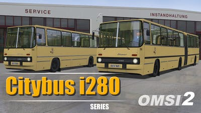 OMSI 2 Add-On Citybus i280 Series - DLC
