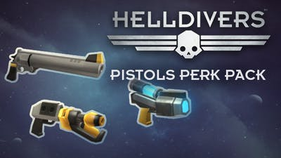HELLDIVERS - Pistols Perk Pack