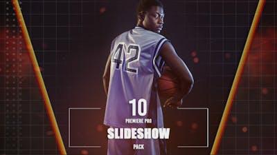 10 Premiere Pro Slideshow Pack