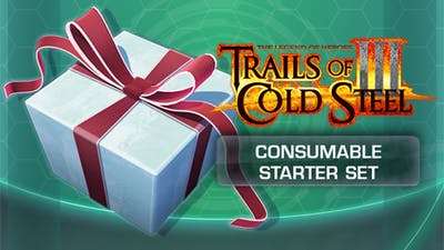 The Legend of Heroes: Trails of Cold Steel III - Consumable Starter Set - DLC