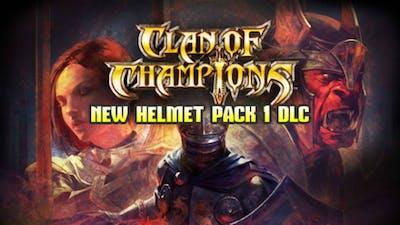 Clan of Champions - New Helmet Pack 1 DLC