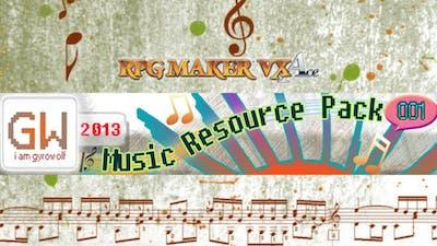 RPG Maker VX Ace: Gyrowolf's Music Resource Pack 001 - DLC
