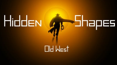 Hidden Shapes Old West - Jigsaw Puzzle Game