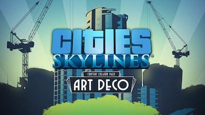 Cities: Skylines - Content Creator Pack: Art Deco DLC