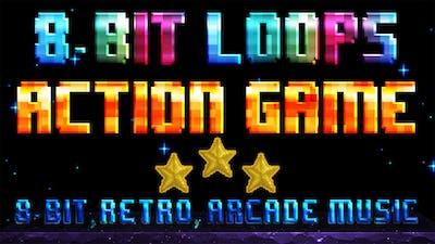 8 Bit Loops Action Pack