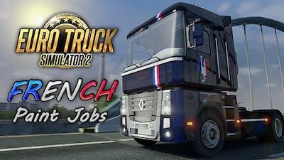 Euro Truck Simulator 2 - French Paint Jobs Pack DLC