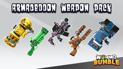 Worms Rumble - Armageddon Weapon Skin Pack