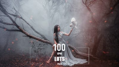 100 Epic LUTs Pack