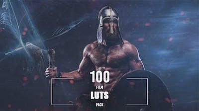 100 Film LUTs Pack