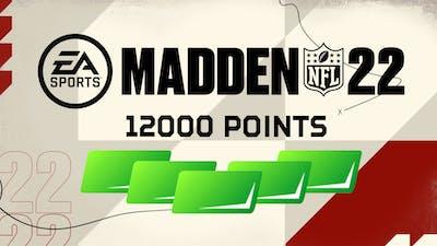 Madden NFL 22 12000 Madden Points - DLC