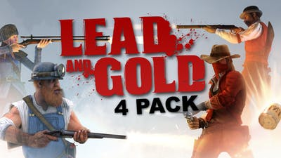 Lead and Gold: Gangs of the Wild West - 4 Pack