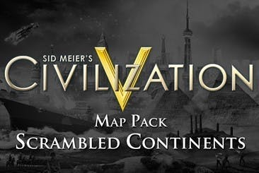 Sid Meier's Civilization V: Scrambled Continents Map Pack DLC