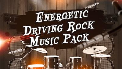 Energetic Driving Rock Music Pack