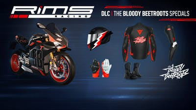 RiMS Racing - Bloody Beetroots Bike and Rider