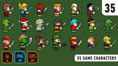 35 Game Characters