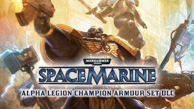 Warhammer 40,000: Space Marine - Alpha Legion Champion Armour Set DLC