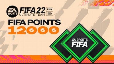 FIFA 22 ULTIMATE TEAM FIFA POINTS 12000