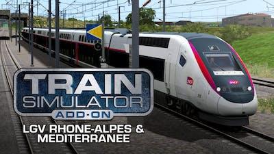 Train Simulator: LGV Rhône-Alpes & Méditerranée Route Extension Add-On - DLC