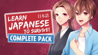 Learn Japanese to Survive Complete Pack
