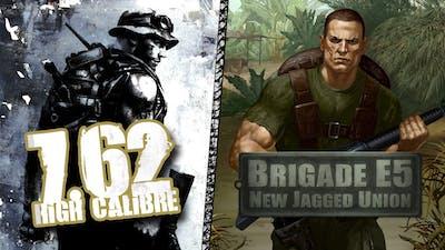 7,62 High Calibre + 7,62 Hard Life + Brigade E5: New Jagged Union Pack