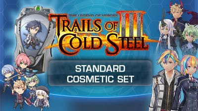The Legend of Heroes: Trails of Cold Steel III - Standard Cosmetic Set - DLC