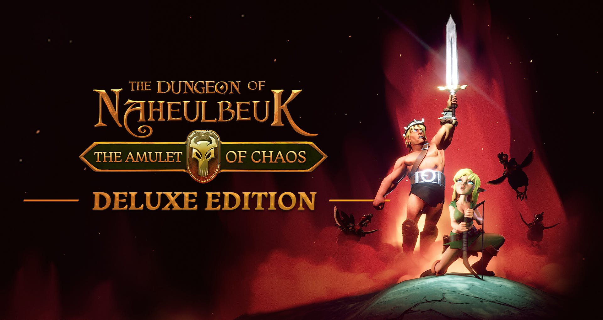 The Dungeon Of Naheulbeuk: The Amulet Of Chaos - Deluxe Edition