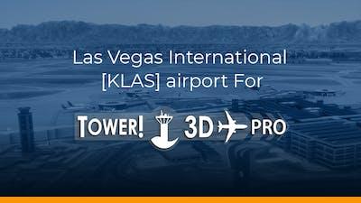 Las Vegas International  [KLAS] airport for Tower!3D Pro - DLC