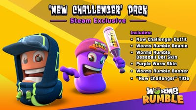 Worms Rumble - New Challengers Pack - DLC