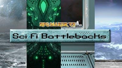 RPG Maker VX Ace: Sci Fi Battlebacks