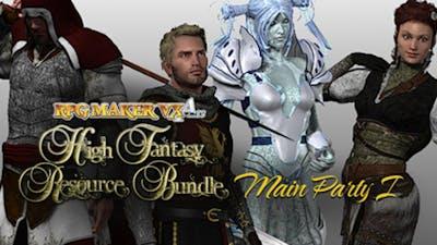 RPG Maker VX Ace: High Fantasy Main Party Pack 1