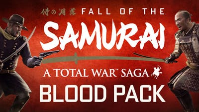 Total War: Shogun 2 - Fall of the Samurai Blood Pack DLC