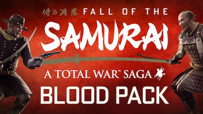 Total War: Shogun 2 - Fall of the Samurai Blood Pack DLC