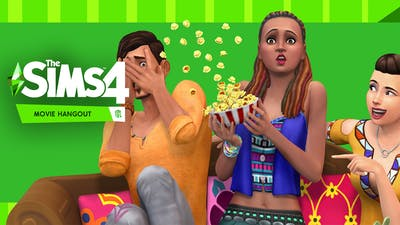The Sims 4 Movie Hangout Stuff - DLC