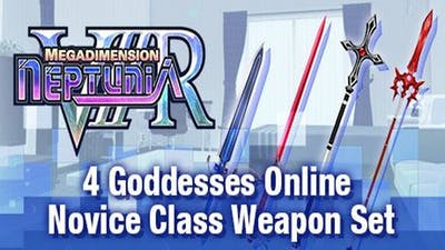 Megadimension Neptunia VIIR - 4 Goddesses Online Novice Class Weapon Set