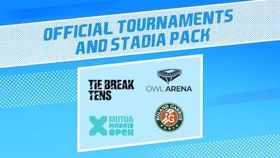 Tennis World Tour 2 - Official Tournaments & Stadia Pack - DLC