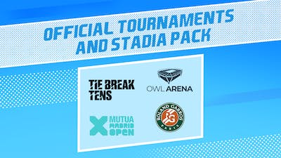 Tennis World Tour 2 - Official Tournaments & Stadia Pack