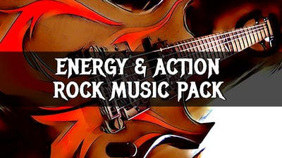 Energy & Action Rock Music Pack