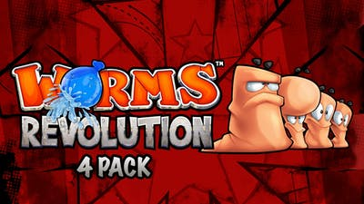 Worms Revolution 4-Pack