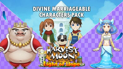 Harvest Moon: Light of Hope Special Edition - Divine Marriageable Characters Pack