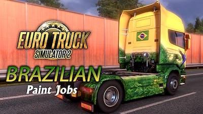 Euro Truck Simulator 2 - Brazilian Paint Jobs Pack DLC