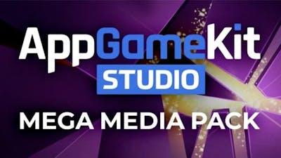 AppGameKit Studio - MEGA Media Pack - DLC