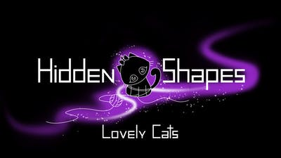 Hidden Shapes Lovely Cats - Jigsaw Puzzle Game