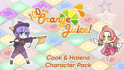 100% Orange Juice - Halena & Cook Character Pack