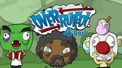 Overruled! 4 for the price of 3 Friends Pack brimming with multiplayer goodness