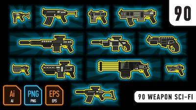90 Weapon Sci-Fi