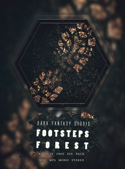 Footsteps Forest SFX Pack